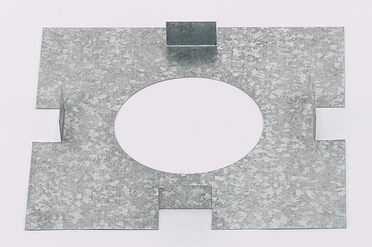 Gas Flue Support Plate