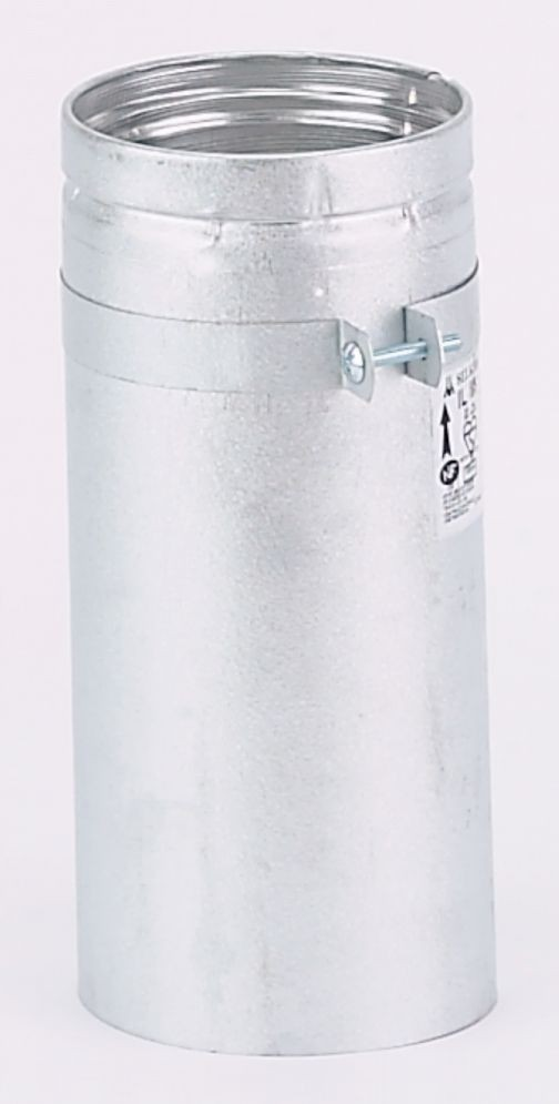Gas flue 300mm adjustable length