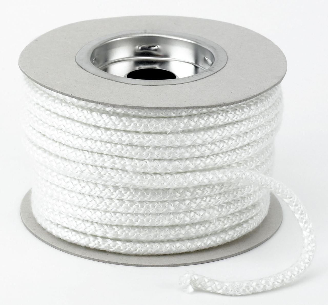 glass fibre rope cut from roll