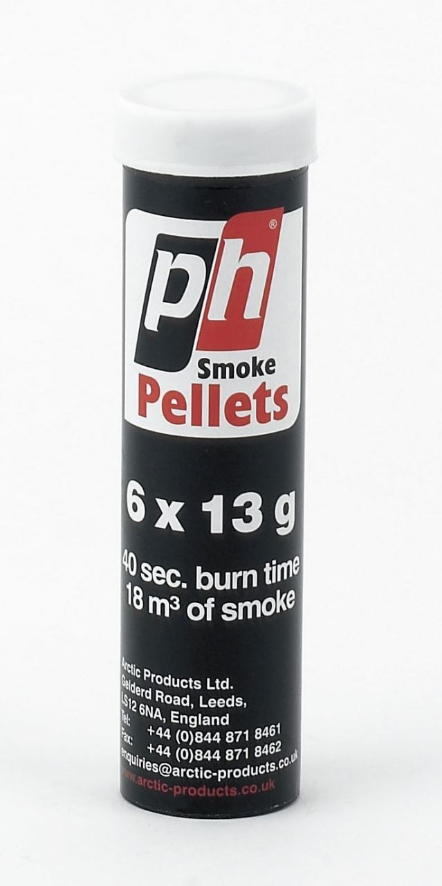 tube with 6 smoke pellets
