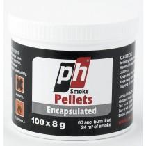 100 smoke pellets in tub